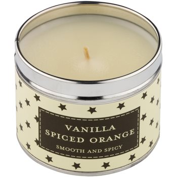 Country Candle Vanilla Spiced Orange Scented Candle   in Tin 1