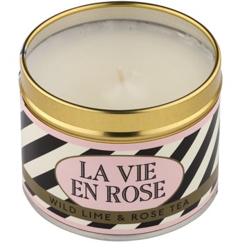Country Candle Wild Lime & Rose Tea Duftkerze    in Blechverpackung 1