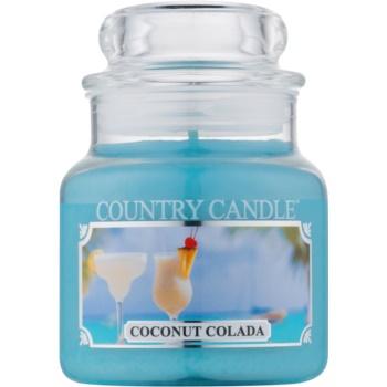 Country Candle Coconut Colada lumânare parfumată