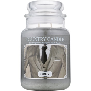 Country Candle Grey lumânare parfumată