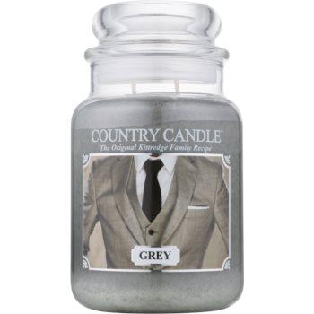 Country Candle Grey lumânare parfumată