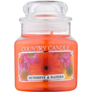 Country Candle Sunshine & Daisies lumânare parfumată
