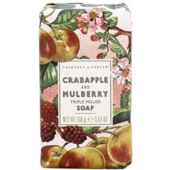 Crabtree & Evelyn Crabapple & Mulberry luksusowe mydło z jabłkiem i morwą