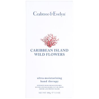 Crabtree & Evelyn Caribbean Island Wild Flowers Feuchtigkeitscreme für die Hände 2