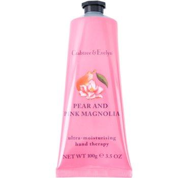Crabtree & Evelyn Pear & Pink Magnolia Feuchtigkeitscreme für die Hände