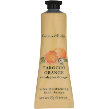 Crabtree & Evelyn Tarocco Orange intensive, hydratisierende Creme für die Hände