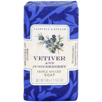 Crabtree & Evelyn Vetiver & Juniperberry sapun de lux cu vetiver si ienupar