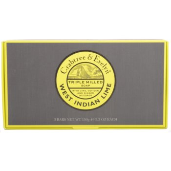 Crabtree & Evelyn West Indian Lime твърд сапун 2