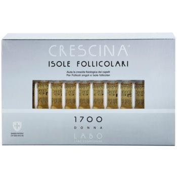 Crescina HAIR FOLLICULAR ISLANDS 1700 ampule proti začetnemu redčenju las za ženske 2