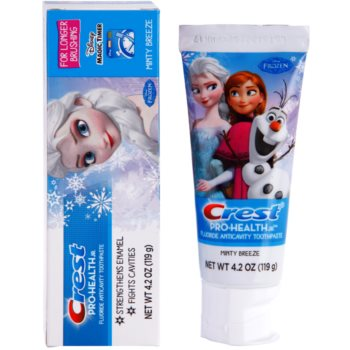 Crest Pro-Health Jr. Disney Frozen Pasta de dinti pentru copii. pentru a intari smaltul dintilor 1