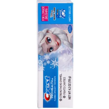 Crest Pro-Health Jr. Disney Frozen Pasta de dinti pentru copii. pentru a intari smaltul dintilor 2