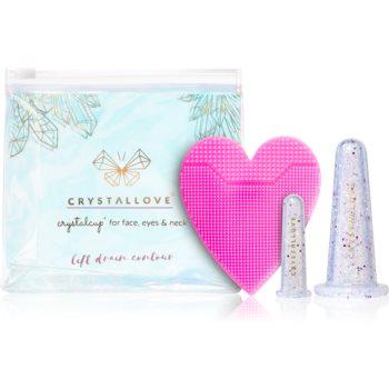 Crystallove Crystalcup set de cosmetice (facial) poza noua