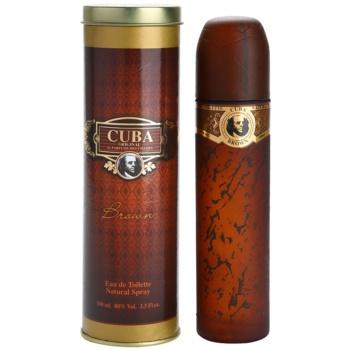 Cuba Brown Eau de Toilette pentru barbati 100 ml