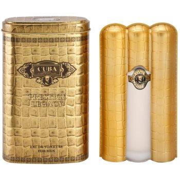 Cuba Prestige Legacy Eau de Toilette pentru barbati 90 ml