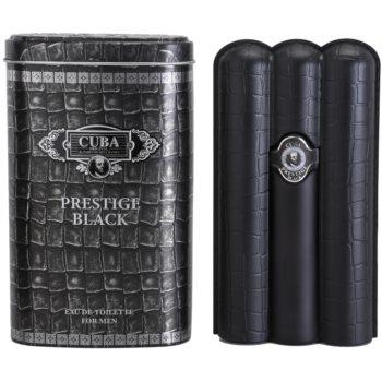 Cuba Prestige Black Eau de Toilette pentru barbati 90 ml