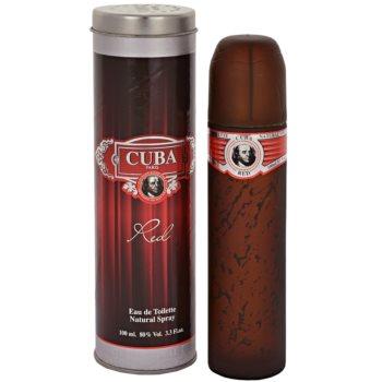 Cuba Red Eau de Toilette pentru barbati 100 ml