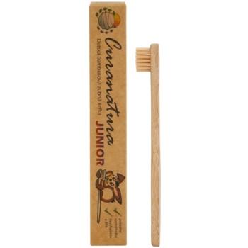 Curanatura Junior bambusova zobna ščetka za otroke ekstra soft 1