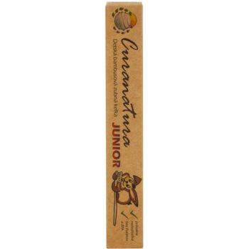 Curanatura Junior bambusova zobna ščetka za otroke ekstra soft 2