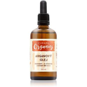 Curapil Organics ulei de argan pentru corp si par