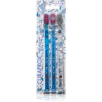 Curaprox Limited Edition Glitter Periuțe de dinți ultra soft