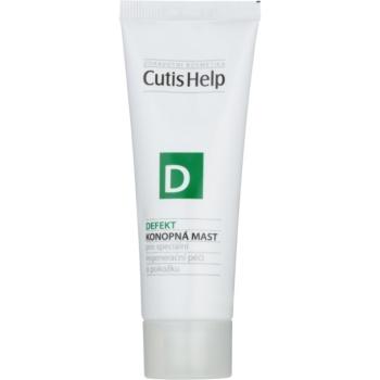 Fotografie CutisHelp Health Care D - Defekt konopná mast při poškození pokožky urychlující hojení 50 ml