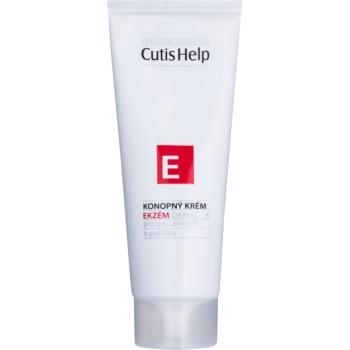 Fotografie CutisHelp Health Care E - Ekzém konopný denní krém při projevech ekzému na obličej a tělo 100 ml