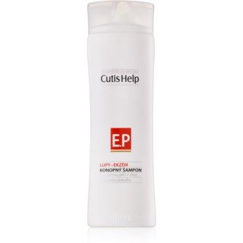 CutisHelp Health Care P.E. - Dandruff - Eczema șampon din cânepă pentru semne de eczeme si matreata