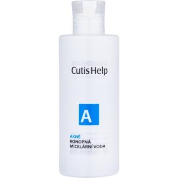 CutisHelp Health Care A - Acne apa micelara cu extract de canepa 3 in 1 pentru ten acneic