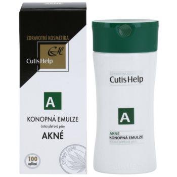 CutisHelp Health Care A - Acne konopljina čistilna emulzija za problematično kožo, akne 1