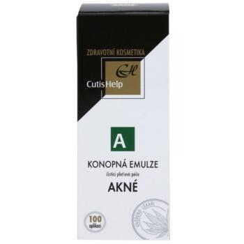 CutisHelp Health Care A - Acne konopljina čistilna emulzija za problematično kožo, akne 2