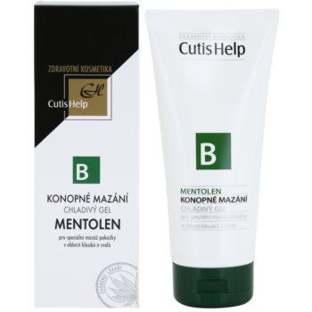 CutisHelp Health Care B - Mentolen konopljin hlanilni gel z mentolom za mišice in sklepe 1