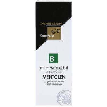 CutisHelp Health Care B - Mentolen konopljin hlanilni gel z mentolom za mišice in sklepe 2
