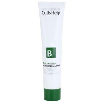 CutisHelp Health Care B - Dolor-End unguent din canepa muschii si articulatiile
