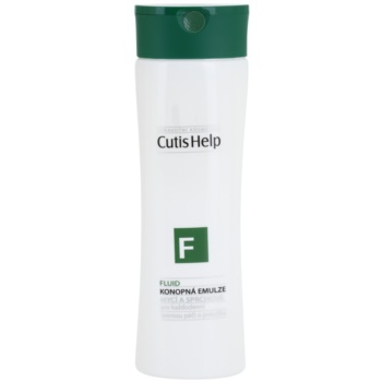 CutisHelp Health Care F - Fluid gel de dus cu extract de canepa pentru utilizarea de zi cu zi