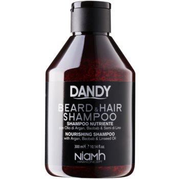 DANDY Beard & Hair Shampoo šampon na vlasy a vousy 300 ml