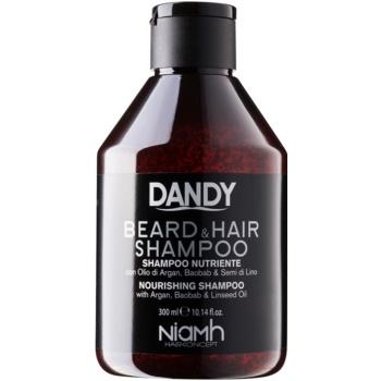 DANDY Beard & Hair Shampoo ?ampon pentru pãr ?i barbã imagine produs