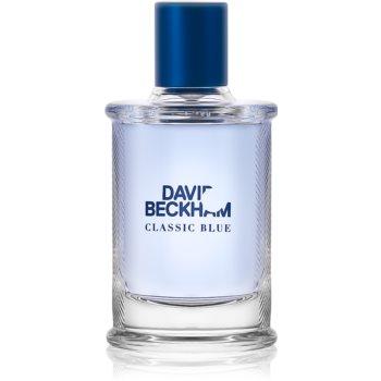 David Beckham Classic Blue Eau de Toilette pentru bărbați