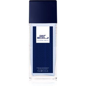 David Beckham Classic Blue deodorant spray pentru barbati