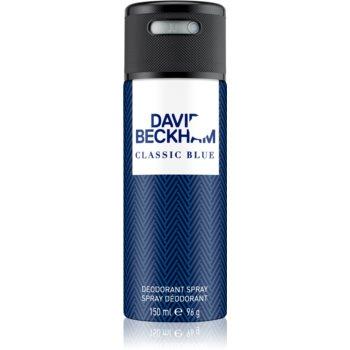 David Beckham Classic Blue deospray pentru barbati