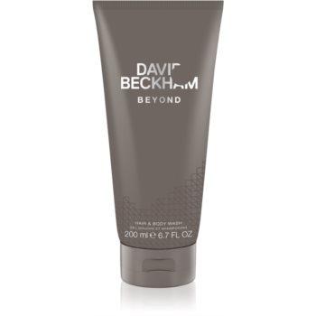 David Beckham Beyond gel de dus pentru barbati