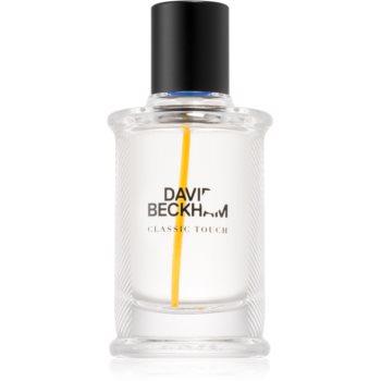 David Beckham Classic Touch eau de toilette pentru barbati 40 ml