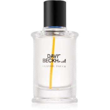David Beckham Classic Touch eau de toilette pentru bărbați
