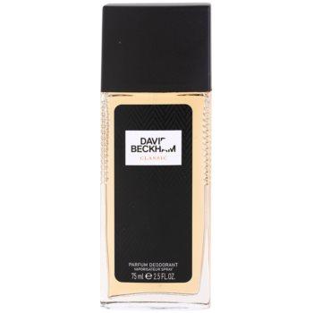 David Beckham Classic Deodorant spray pentru barbati 75 ml