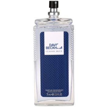 David Beckham Classic Blue desodorizante vaporizador para homens 1
