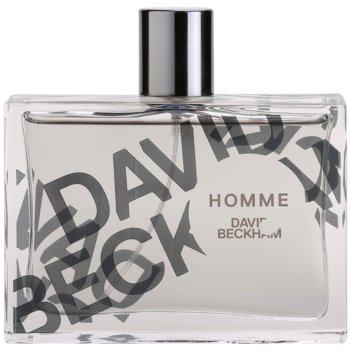 David Beckham Homme Eau de Toilette para homens 3