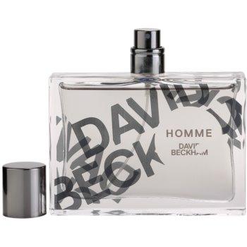 David Beckham Homme Eau de Toilette para homens 4