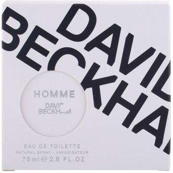 David Beckham Homme Eau de Toilette para homens 5