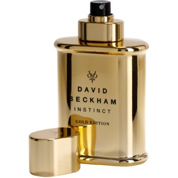 David Beckham Instinct Gold Edition Eau de Toilette para homens 3