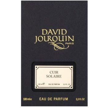 David Jourquin Cuir Solaire Eau de Parfum unissexo 4