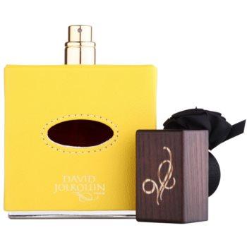 David Jourquin Cuir Solaire Eau de Parfum unissexo 3